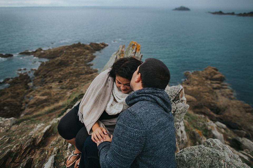 Séance photo sous la pluie la Pointe du Grouin Saint Malo